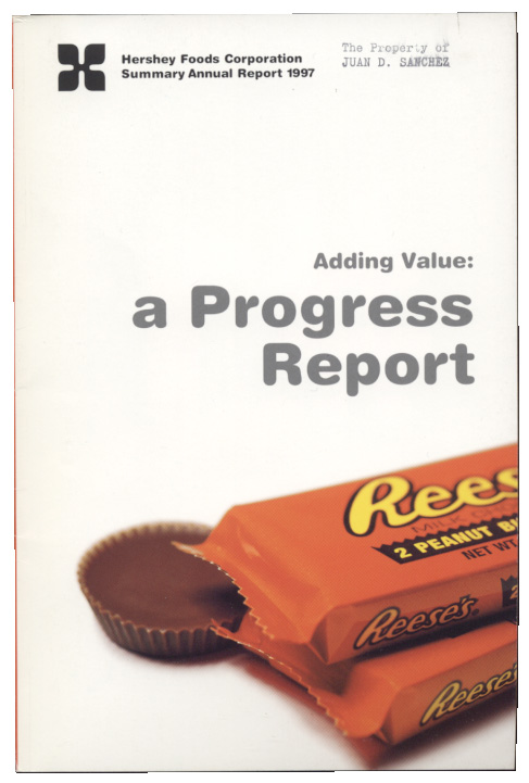 Hershey Foods Corporation 1997 Annual Report