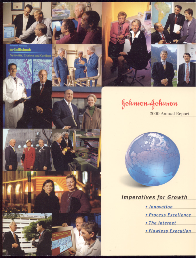 Johnson And Johnson 2000 Annual Report