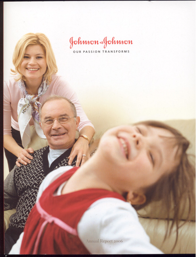 Johnson And Johnson 2006 Annual Report
