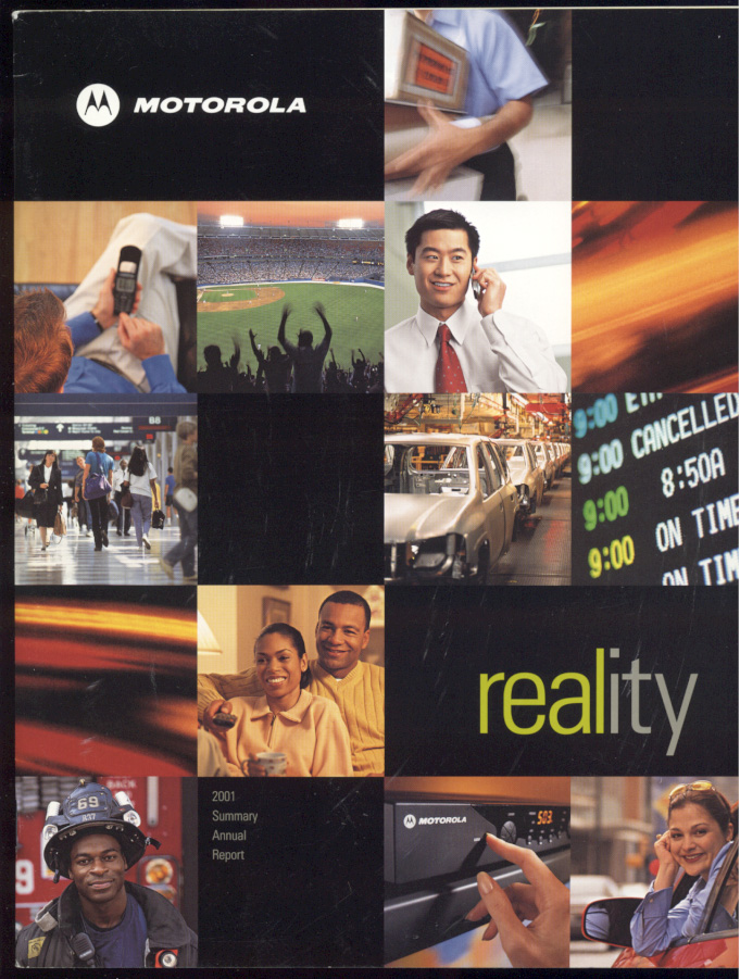 Motorola 2001 Annual Report