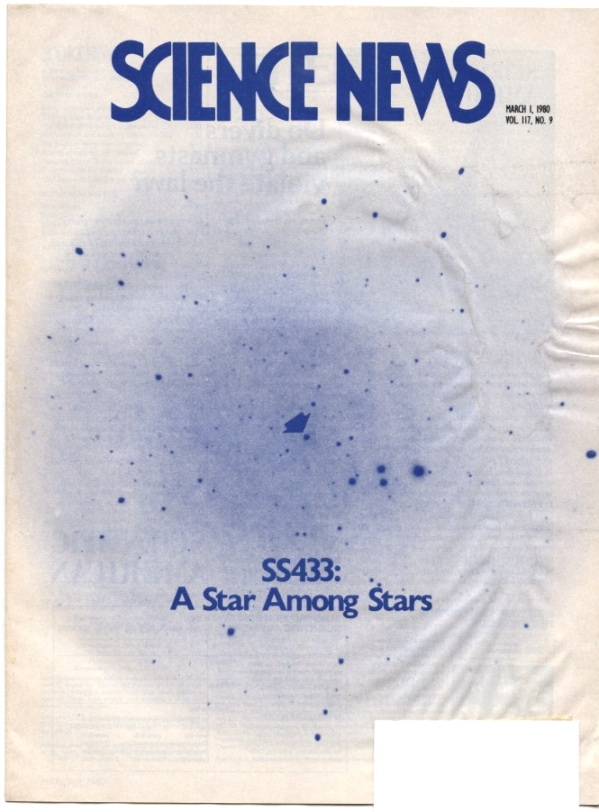 Science News March 01 1980 Star SS433