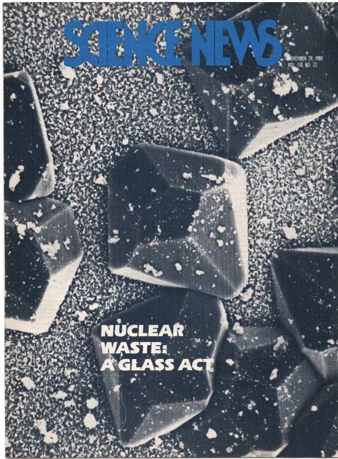 Science News November 29 1980 Safe disposal of Nuclear Waste