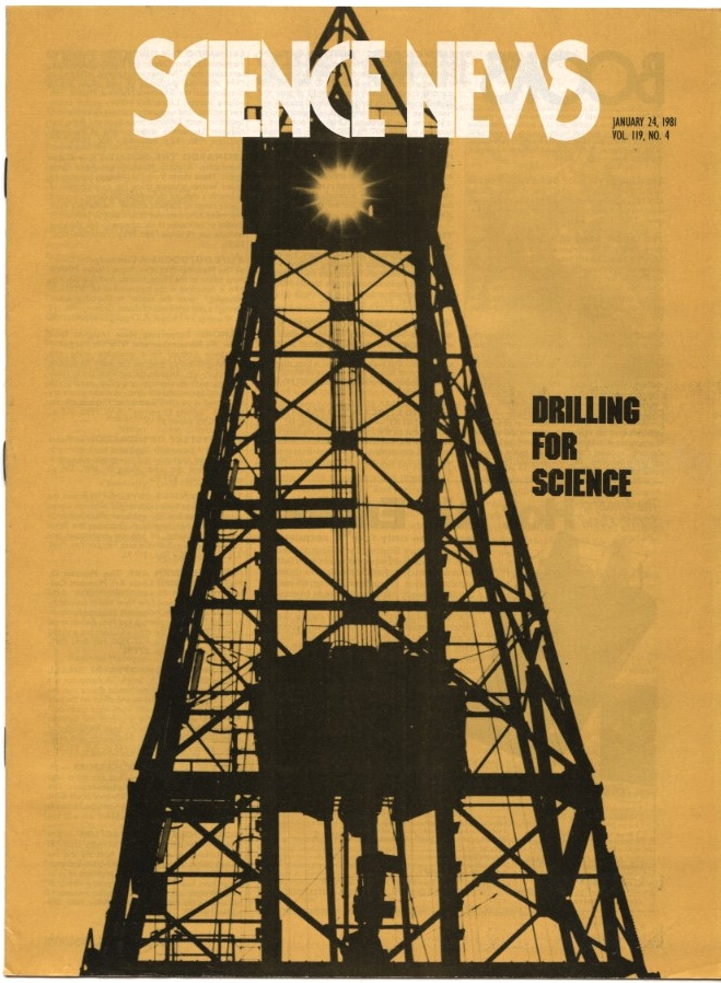 Science News January 24 1981 Deep Sea Drilling for Science
