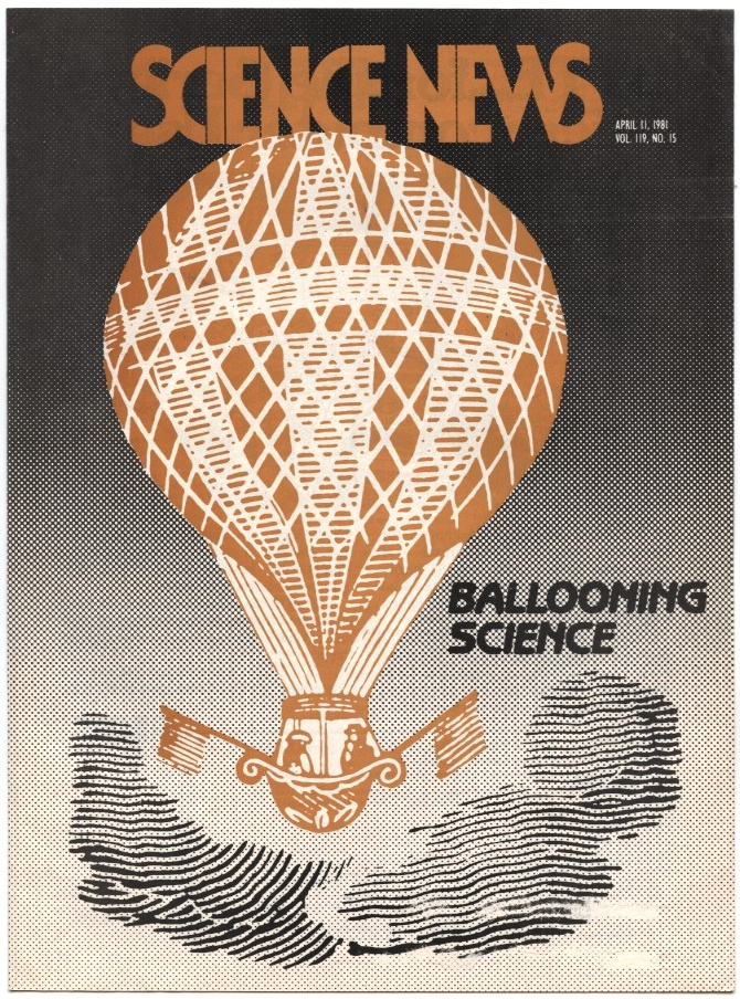 Science News April 11 1981 Ballooning Science