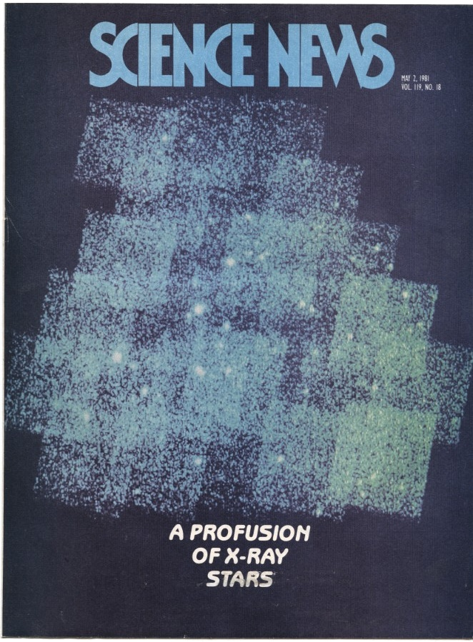 Science News May 2 1981 A Profusion Of X-Ray Stars