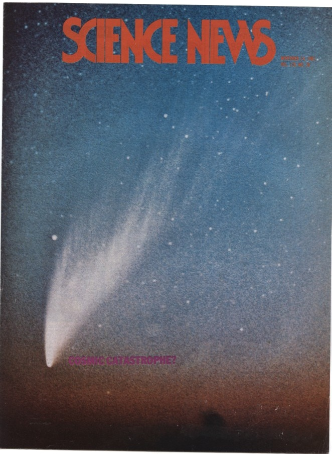 Science News November 14 1981 Asteroid impact sixty five million years ago
