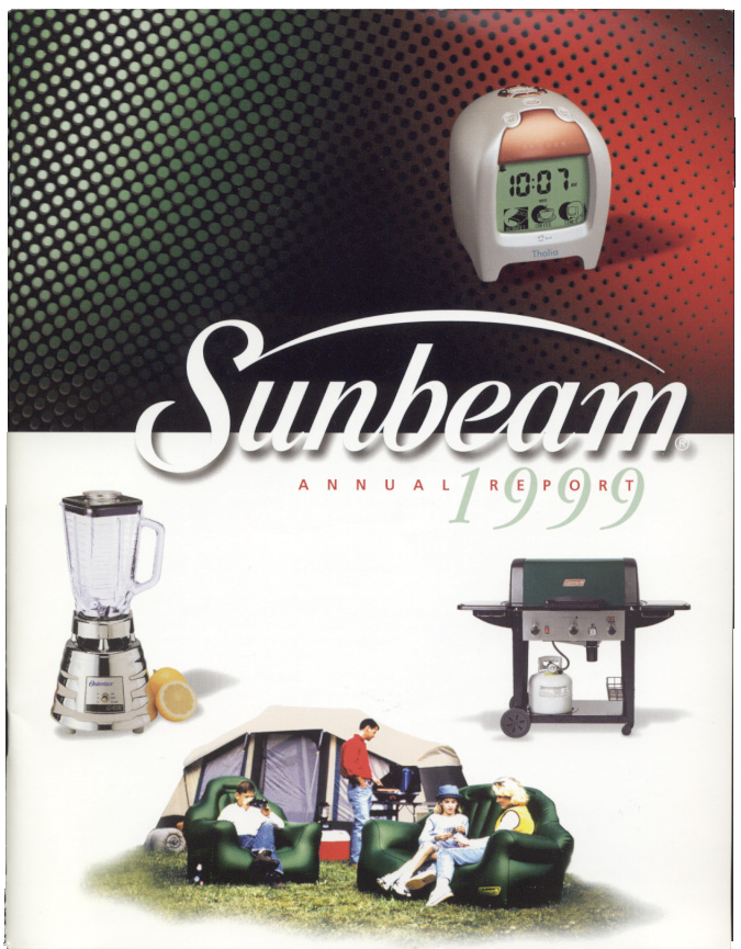 Sunbeam Oster Corporation 1999 Annual Report
