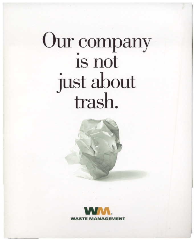 Waste Management 2001 Annual Report
