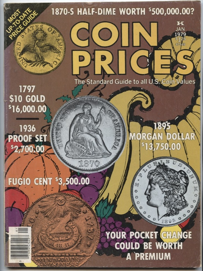 Coin Prices Magazine January 1979