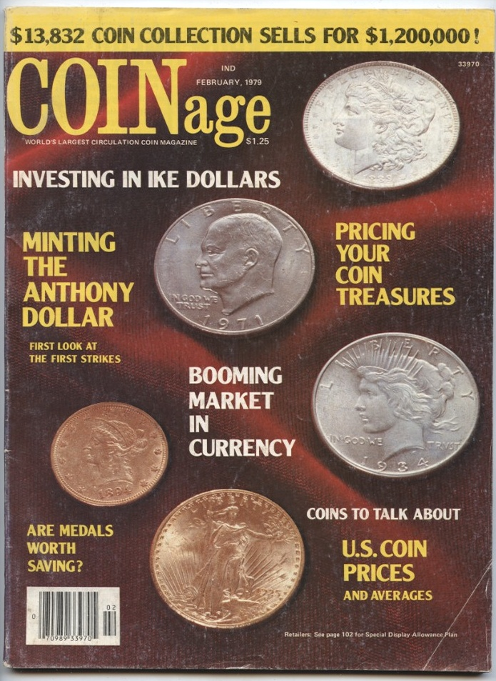 Coin Prices Magazine February 1979
