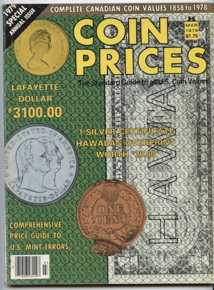 Coin Prices Magazine March 1979