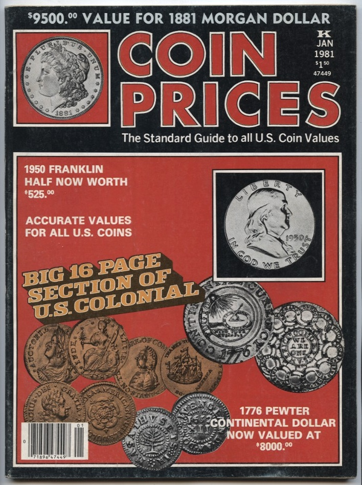 Coin Prices Magazine January 1981