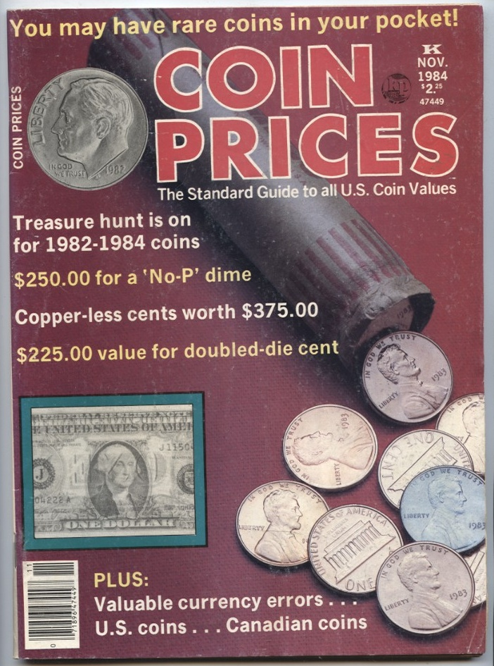 Coin Prices Magazine November 1984