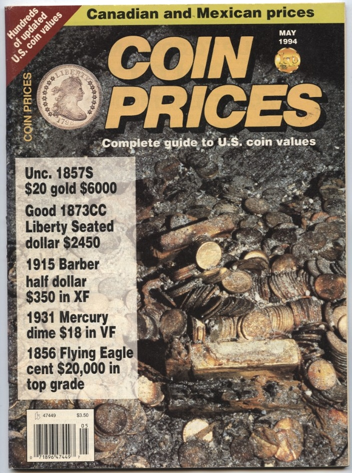 Coin Prices Magazine May 1994