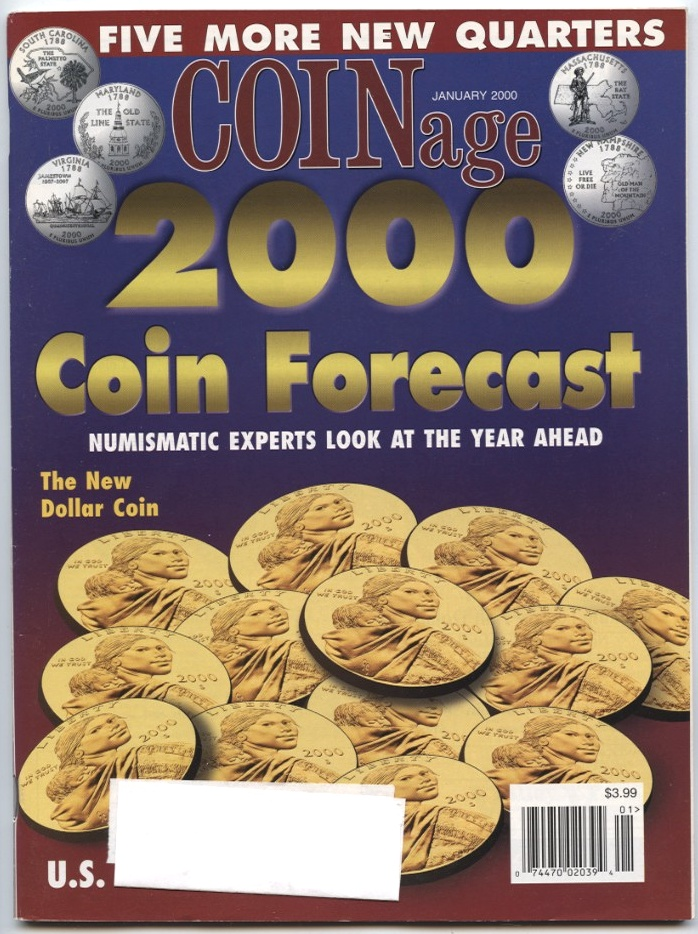 Coinage Magazine January 2000