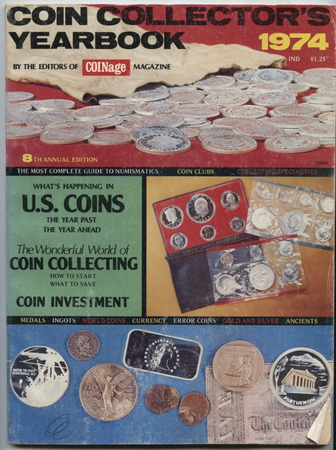 COINage Magazine Collector's Yearbook 1974