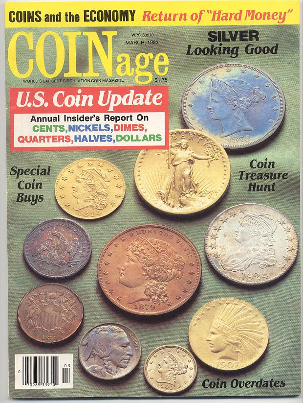 Coinage Magazine March 1983