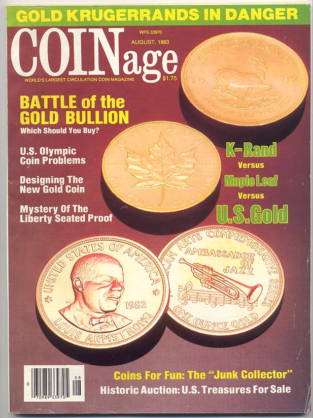 Coinage Magazine August 1983