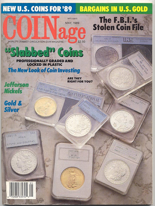 Coinage Magazine May 1989