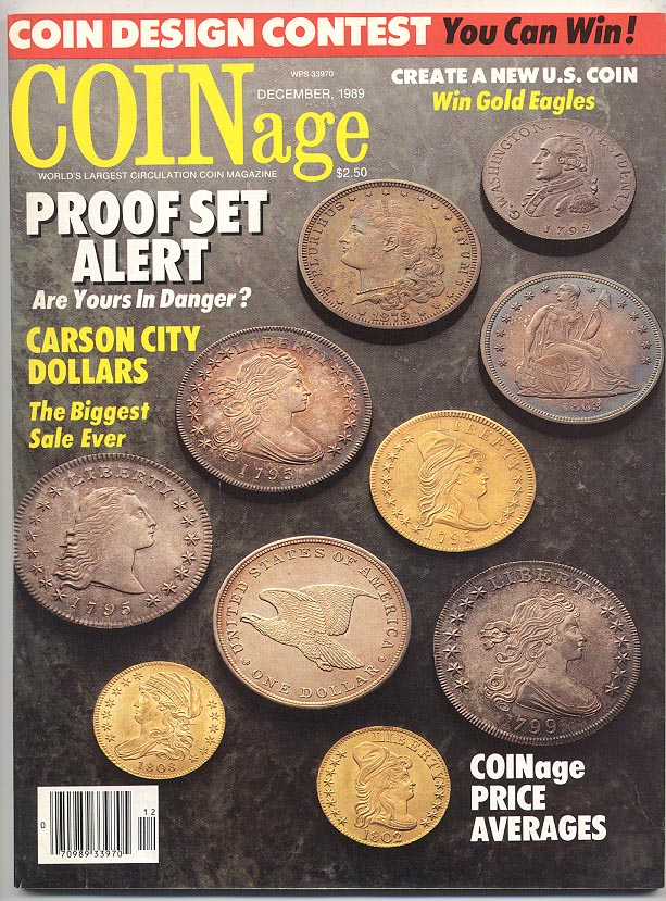 Coinage Magazine December 1989