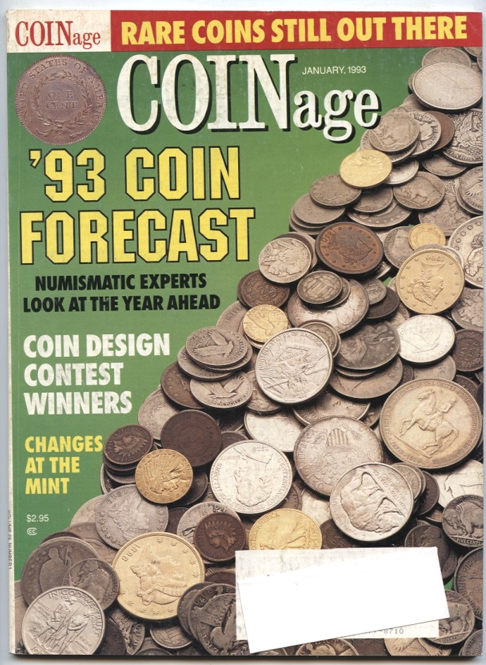 Coinage Magazine January 1993