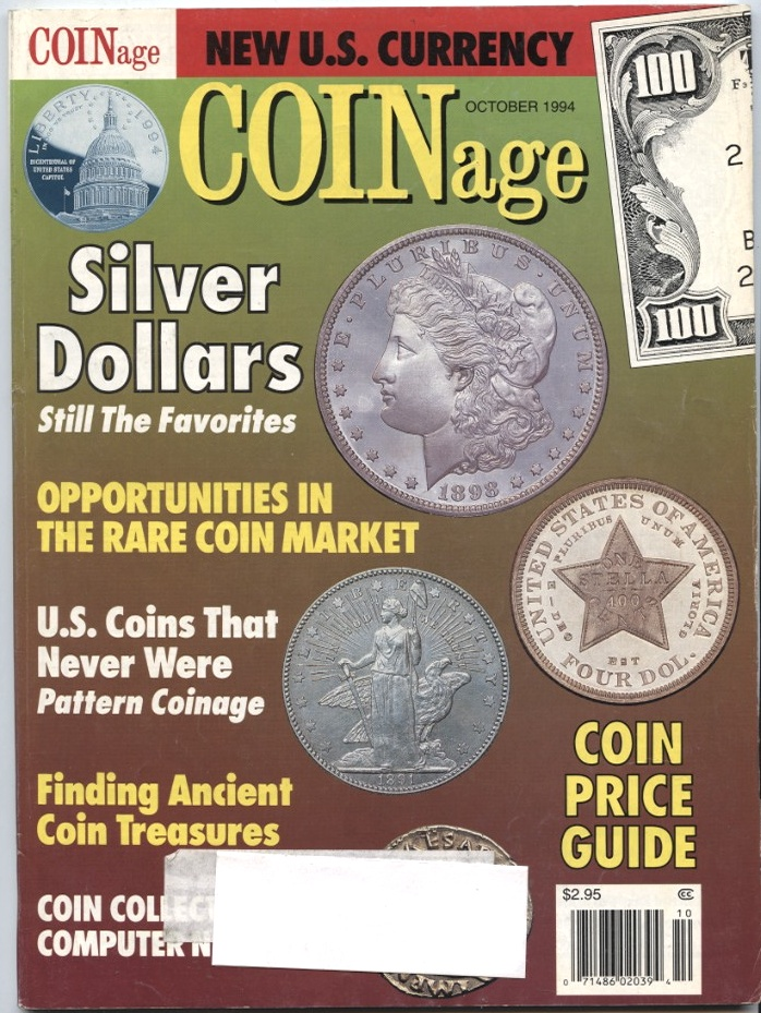 Coinage Magazine October 1994