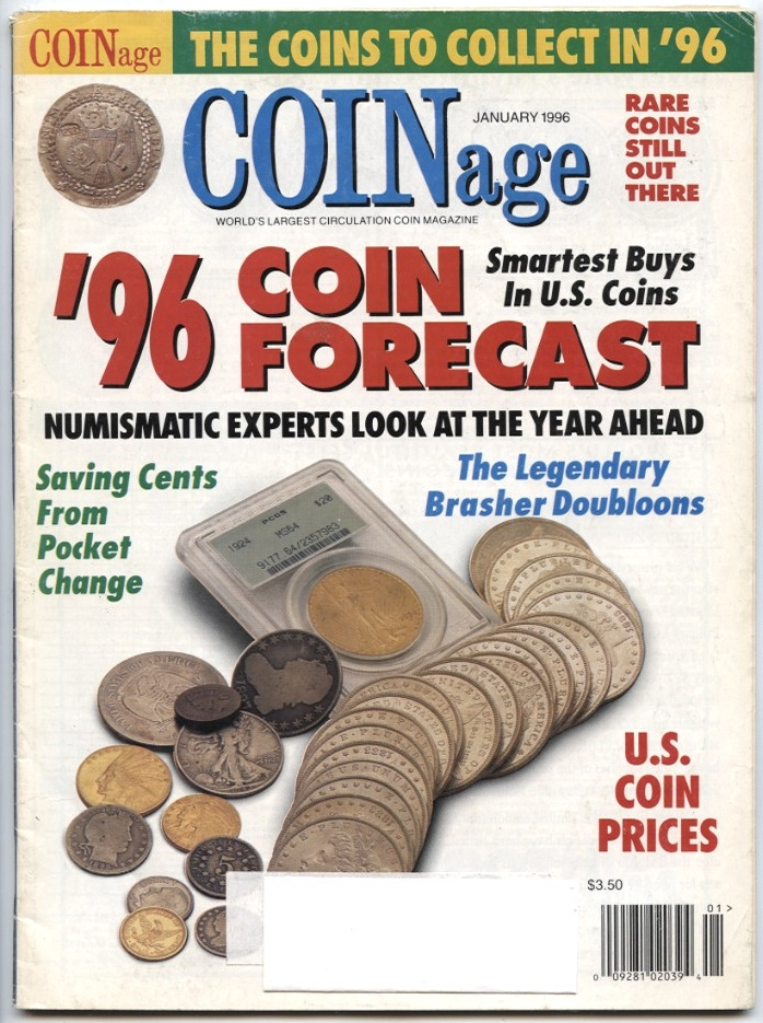 Coinage Magazine January 1996