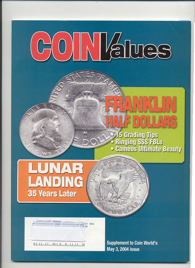 Coin Values Magazine May 2004
