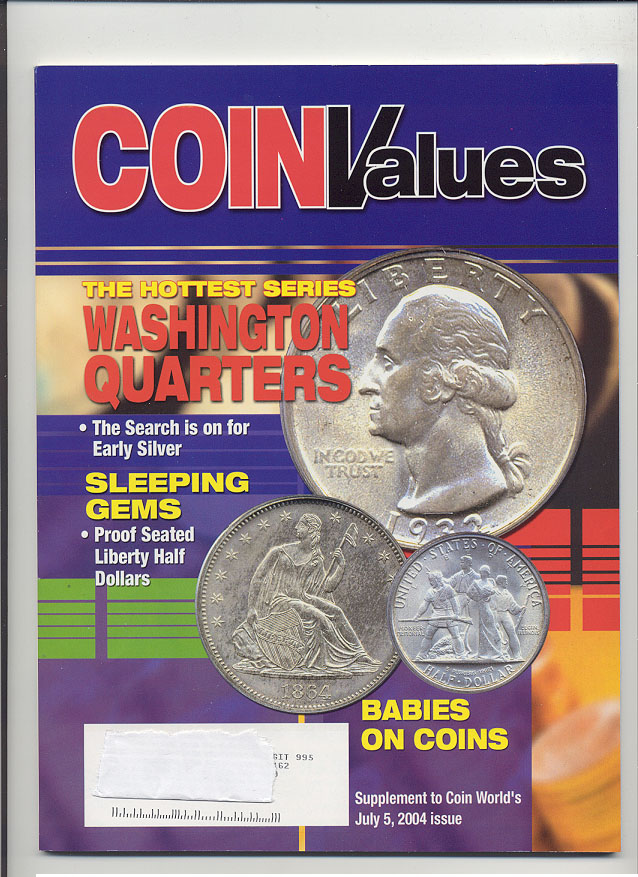 Coin Values Magazine July 2004