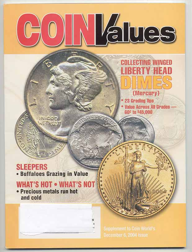 Coin Values Magazine December 2004