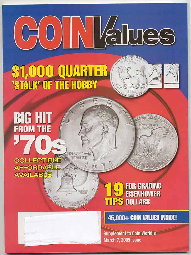 Coin Values Magazine March 2005