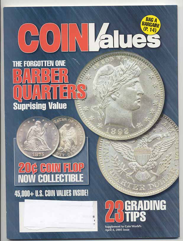 Coin Values Magazine April 2005