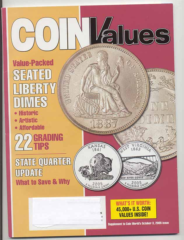 Coin Values Magazine October 2005