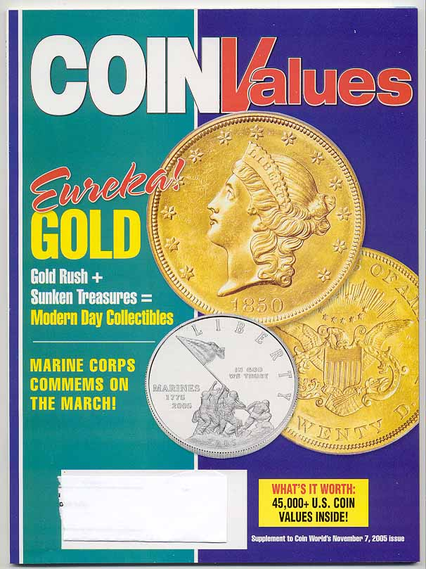 Coin Values Magazine November 2005