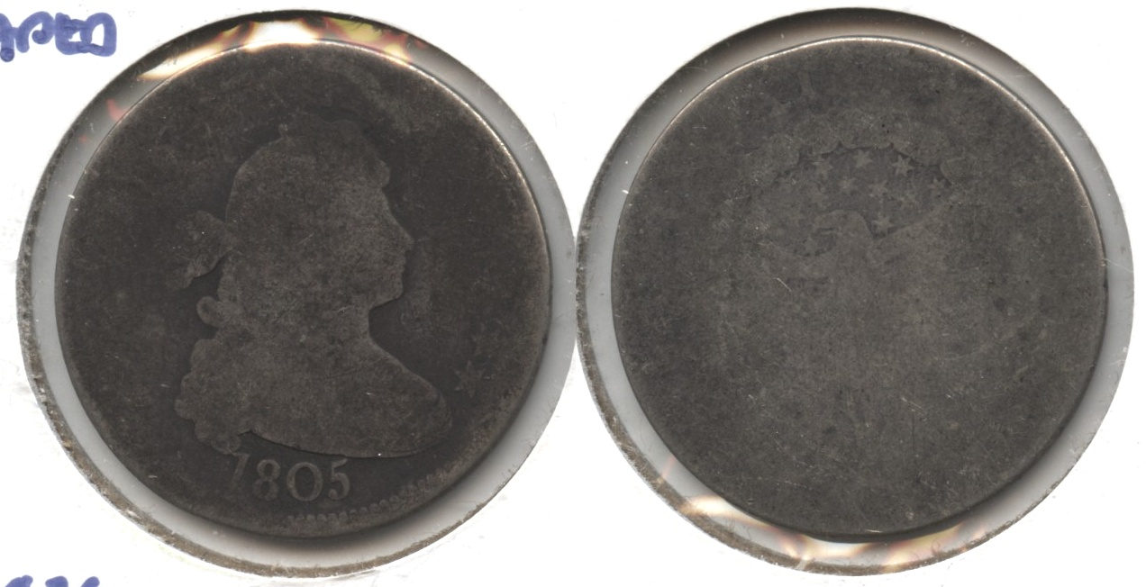 1805 Draped Bust Quarter Fair-2