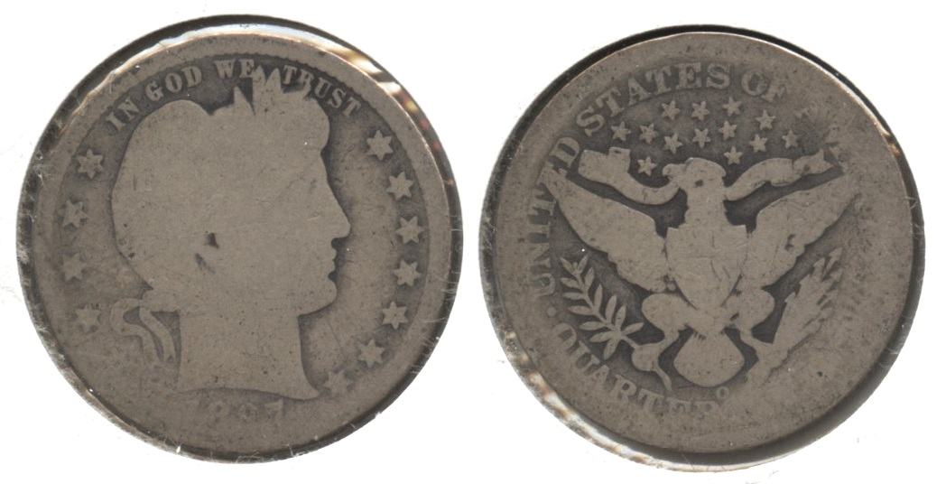 1897-O Barber Quarter Fair-2 #c