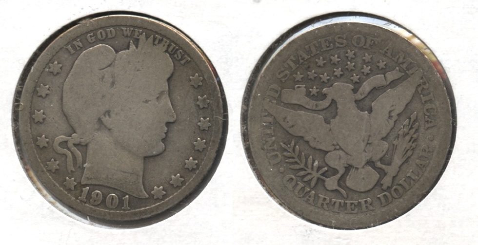 1901 Barber Quarter Good-4 #i