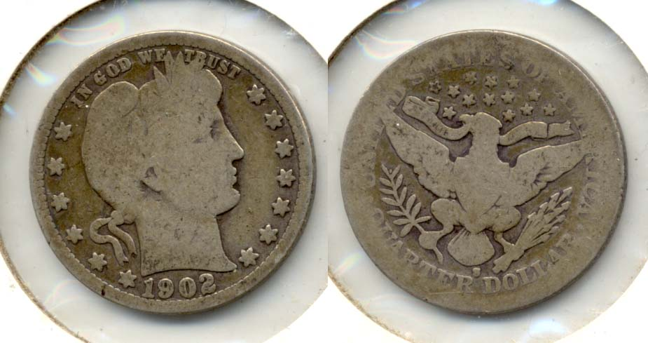 1902-S Barber Quarter AG-3 b