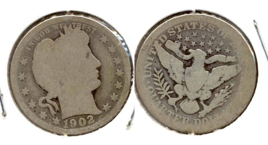 1902 Barber Quarter AG-3 a