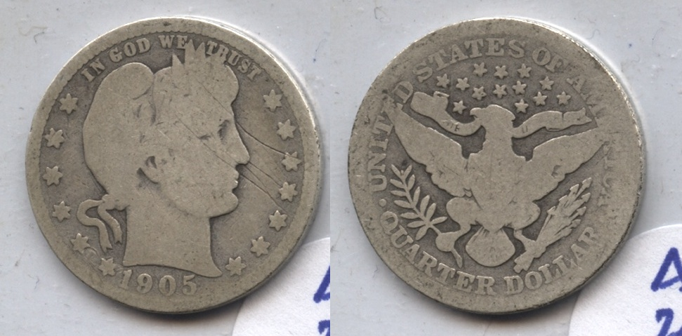 1905 Barber Quarter AG-3 #g