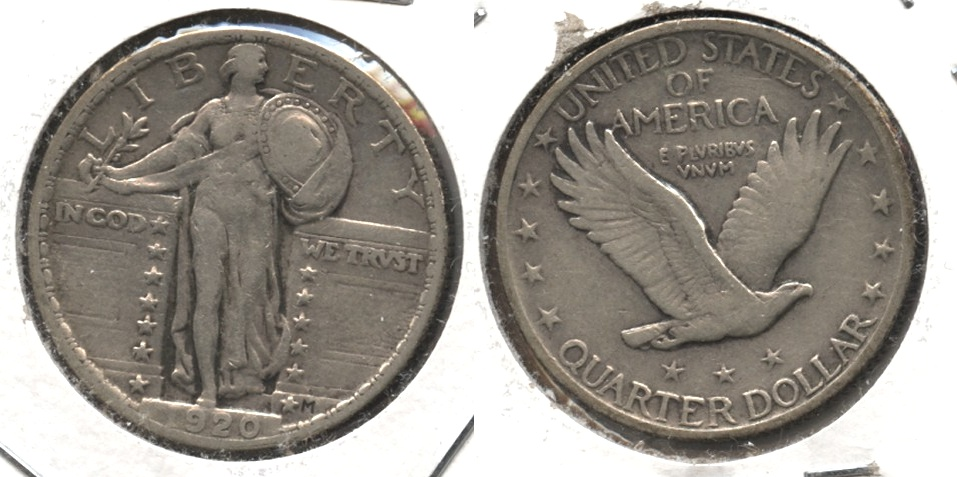 1920 Standing Liberty Quarter VF-20 #e