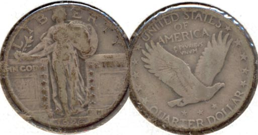 1926-D Standing Liberty Quarter Good-4