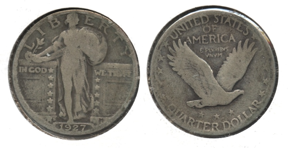 1927-S Standing Liberty Quarter AG-3 #c