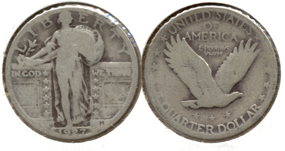 1927 Standing Liberty Quarter Good-4 g