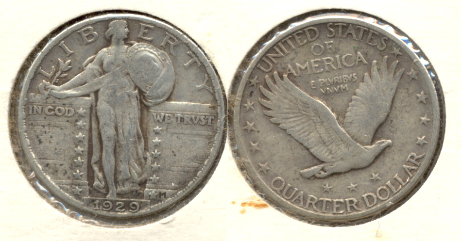 1929 Standing Liberty Quarter VF-20 c