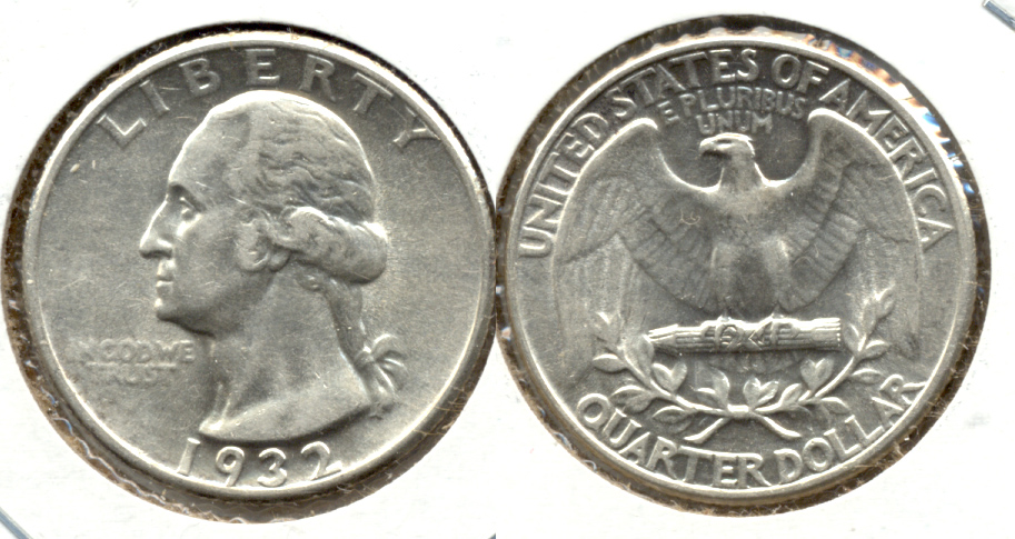 1932 Washington Quarter AU-50 m