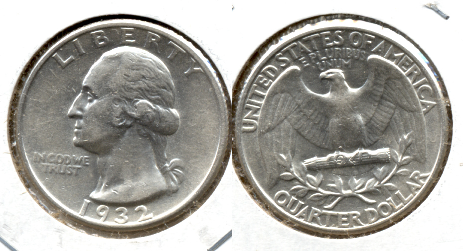 1932 Washington Quarter AU-50 n