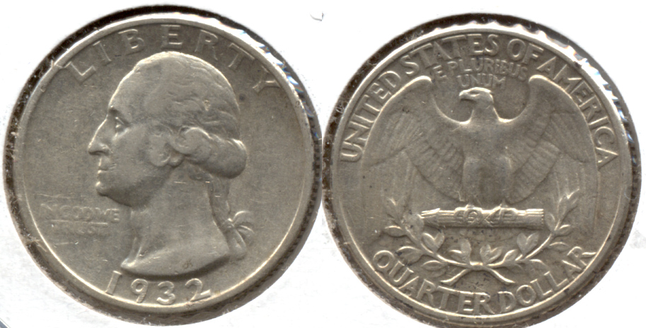 1932 Washington Quarter EF-40 n