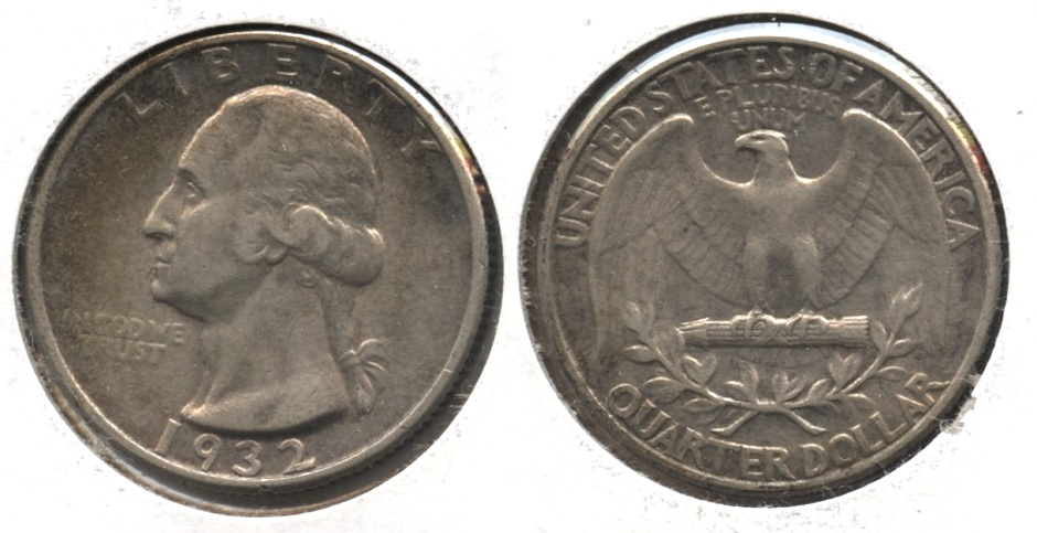 1932 Washington Quarter EF-40 #o