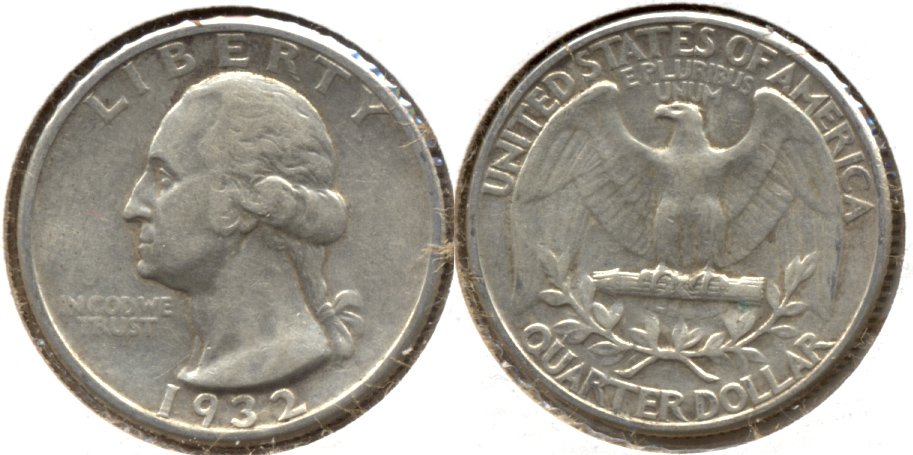 1932 Washington Quarter VF-20 l